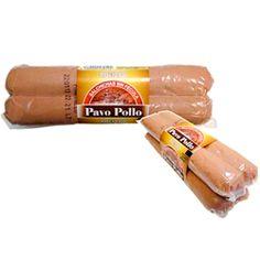 Salchichas de pavo-pollo compradas en el mercadona. No tienen leche, sacarosa ni isomaltosa/almidón