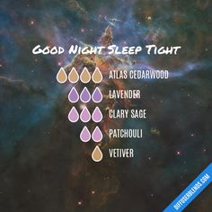 Good Night Sleep Tight - Essential Oil Diffuser Blend