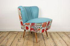 Vintage Vitrine | vintage meubelen, lampen en accessoires - FLOWER MARGARITA COCKTAIL(CHAIR)