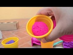 Play Doh Sweet Shoppe Colorful Candy Box CupCake SOFTEE Dough