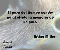 Frases filosoficas sobre el tiempo de Arthur Miller