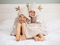 reindeer bath towels for the holidays.