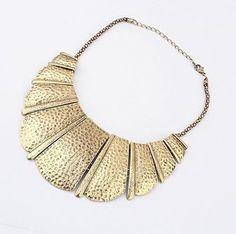Collar Croisant Dorado