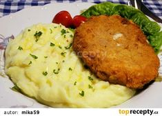 Czech Recipes, Ethnic Recipes, Keto Recipes, Cooking Recipes, Risotto, Mashed Potatoes, Food And Drink, Chicken, Meat