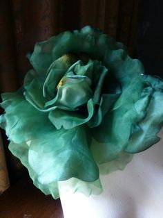 Tools silk flower tutorials millinery judithm flowers french sale grand millinery rose in emerald silk velvet organdy for bridal derby ascot mightylinksfo Gallery