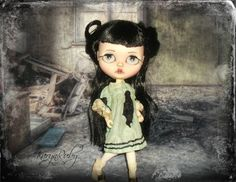 Blythe   Girls Silk Dress  19th Century Inspired     by KarynRuby