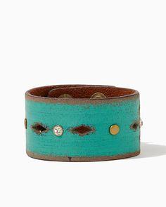 charming charlie | Leila Leather Strap Bracelet #charmingcharlie