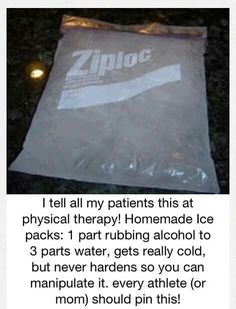 @Jenn Clinton   How much would these help you at the clinic? Homemade ice packs