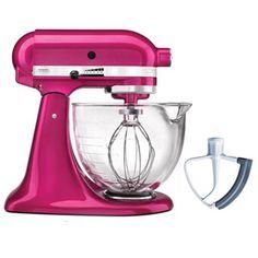 Kitchenaid Classic Glass Bowl who wouldn't love a kitchenaid classic 4.5-quart stand mixer? it