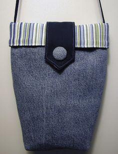 Denim Mini Purse - Free Sewing Tutorial by Ulla's Quilt World chanel bags, designer handbags, burberry handbags, gucci handbags, ulla quilt, bag tutorials, sewing tutorials, hermes handbags, old jeans