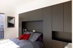 rénovation appartement paris 14 - chambre tête de lit