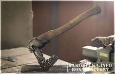 Изготовление уникального и полностью функционального топора своими руками