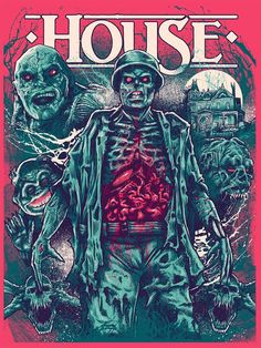 Artist: Godmachine Edition: Regular Run: 91 Size: 18 x 24 Medium: Screenprint Status: In Stock Hand numbered, Limited Edition * Please note all sales are final. All Horror Movies, Horror Movie Characters, Classic Horror Movies, Scary Movies, Horror Film, Cult Movies, Fan Poster, Movie Poster Art, Vintage Movies