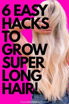 6 ways to grow long hair naturally!