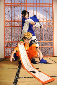sasuke and naruto cosplay
