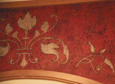 Italian Plaster 3-Dimensional Panel close-up