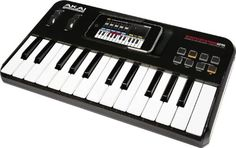The SynthStation25 transforms iPhone or iPod touch into a portable music production studio for mobile music creation. This MIDI keyboard controller gives your handheld device a two-octave set of piano keys and professional audio outputs, and it integrates perfectly with the Akai Pro SynthStation app and select third party apps. The SynthStation25 is powerful enough for professional musicians, yet virtually anyone can use it to easily create music. his 25-key synth keyboard features a…