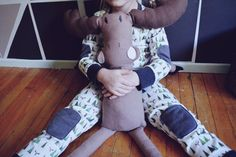 The Moose by CauliflowerKids on Etsy,