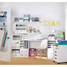 1000 images about office ideas on pinterest craft rooms for Recollections craft room storage amazon