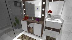 Ambientes & Ideias: Um Banheiro... Um camarim!