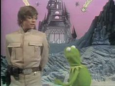The Muppet Show - You Are My Lucky Star/When you Wish Upon a Star - The Muppets and the cast of Star Wars Toys R Us Kids, The Muppet Show, Nerd Humor, Mark Hamill, Jim Henson, Disney Stars, Lucky Star, Star Wars Humor, Nerd Geek