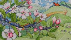 Apple Blossom Time Storybook Cottage Series