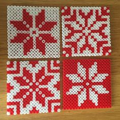 Coaster set hama beads by zeyyydesign