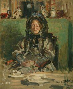 Mrs Sickert, 1908, Jacques-Émile Blanche