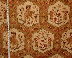 "Thibaut fabric India batik elephant destash- 60"" from Brick House Fabric: Novelty Fabric"