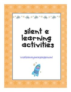 Here's a set of hands-on activities to learn and practice decoding CCVe words (Silent e).