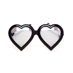 e428b60a9c09 LINDA FARROW LUXE Mirrored Heart Sunglasses ( 240) ❤ liked on Polyvore  Heart Sunglasses