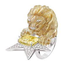 La bague Constellation du Lion de Chanel Joaillerie