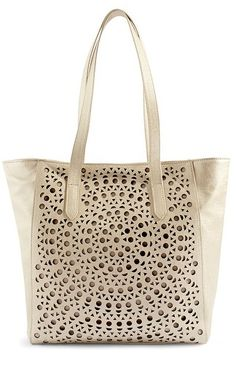 Perforated Tote at Chico's
