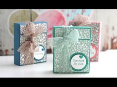 Anleitung: Kuppelbox / Domebox | Stampin' Up! - YouTube