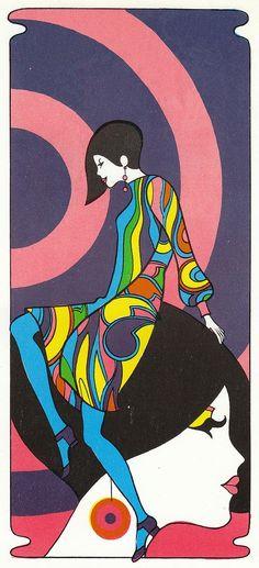 60's Fashion Illustration