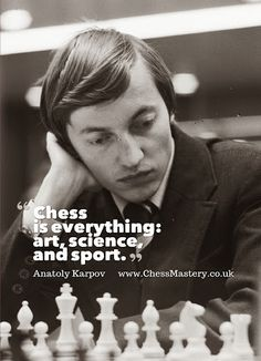 """Chess is everything: art, science, and sport. That's not everything but that's ok that's still a lot of things Articulation Activities, Speech Therapy Activities, Family Game Night, Family Games, Anatoly Karpov, Chess Quotes, Chess Tactics, Play Therapy Techniques, Chess Players"