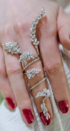 Bling Knuckle Ring