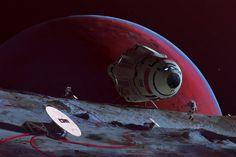 Phobos Relay by MacRebisz.deviantart.com on @DeviantArt
