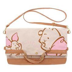 Winnie-the-Pooh & Piglet Purse