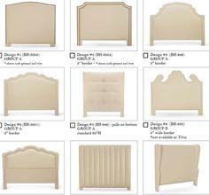 Upholstered Headboard Styles