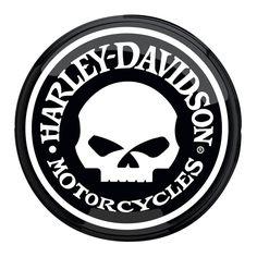 Harley Davidson Skull Pub Light http://www.bikerathome.com/index.php/harley-davidson-skull-pub-light.html