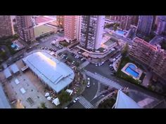 Video: Douggs and his friends BASE jumping from the elevator of Hotel Bali from Benidorm in Spain