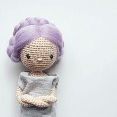 Lea Amigurumi Crochet Doll Pattern Amalou.Designs