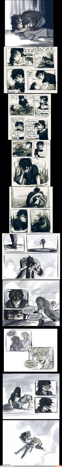 Percy Jackson comic...I think my heart was ripped out of my chest