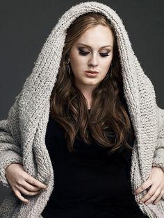 Adele una cantante única e inspiradora #Adele #Glamour #MeGusta