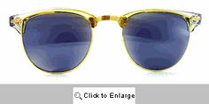 Melrose Mirrored Clubmaster Sunglasses - 220 Gold Clubmaster Sunglasses, Gold Sunglasses, Wayfarer, Style, Swag, Outfits