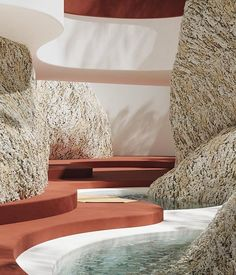 Amazing Design by Alexis Christodoulou # Organic Architecture, Space Architecture, Maquette Architecture, Space Place, Piece A Vivre, Interiores Design, Decoration, Interior And Exterior, Landscape Design