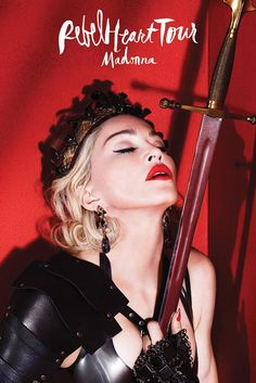 Madonna - Rebel Heart Tour Mexico - After Show Party - Mini Print Madonna Tour, Madonna 80s, Macau, Veronica, Liberty, The Broad Museum, Tour Posters, Female Singers, Musicals