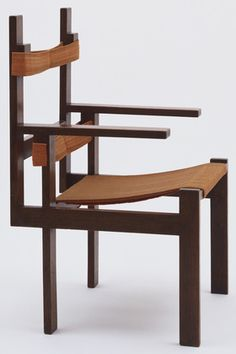 MoMA | The Collection | Marcel Breuer. Armchair. 1922