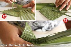 It's taking shape! Wanda's step by step guide to making a flax flower. Flax Weaving, Basket Weaving, Flower Arrangement Designs, Flower Arrangements, Maori Patterns, Crochet Crocodile Stitch, Flax Flowers, Weaving Process, Weaving Patterns